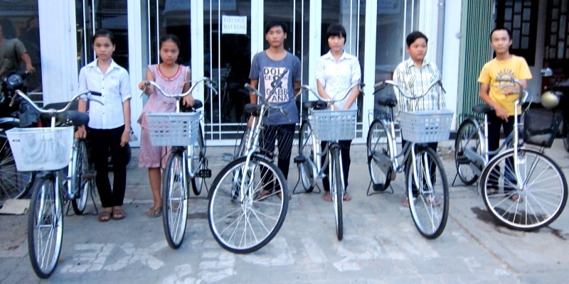 Bicycles-6students