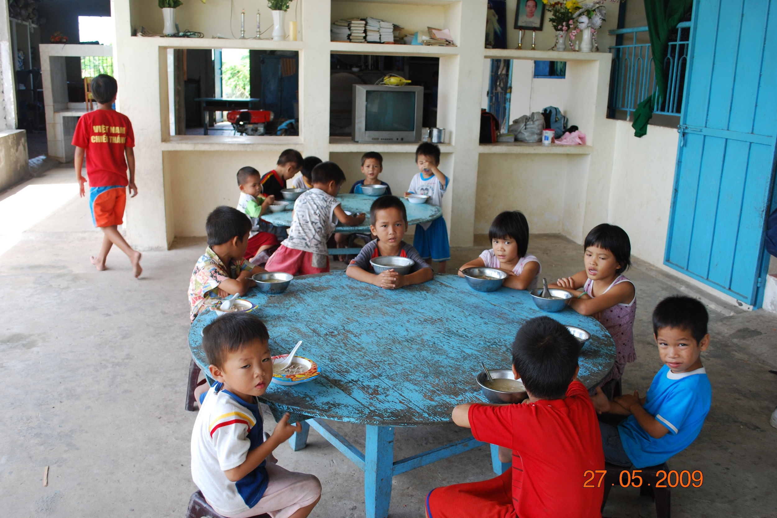 Mealtime at the Orphanage