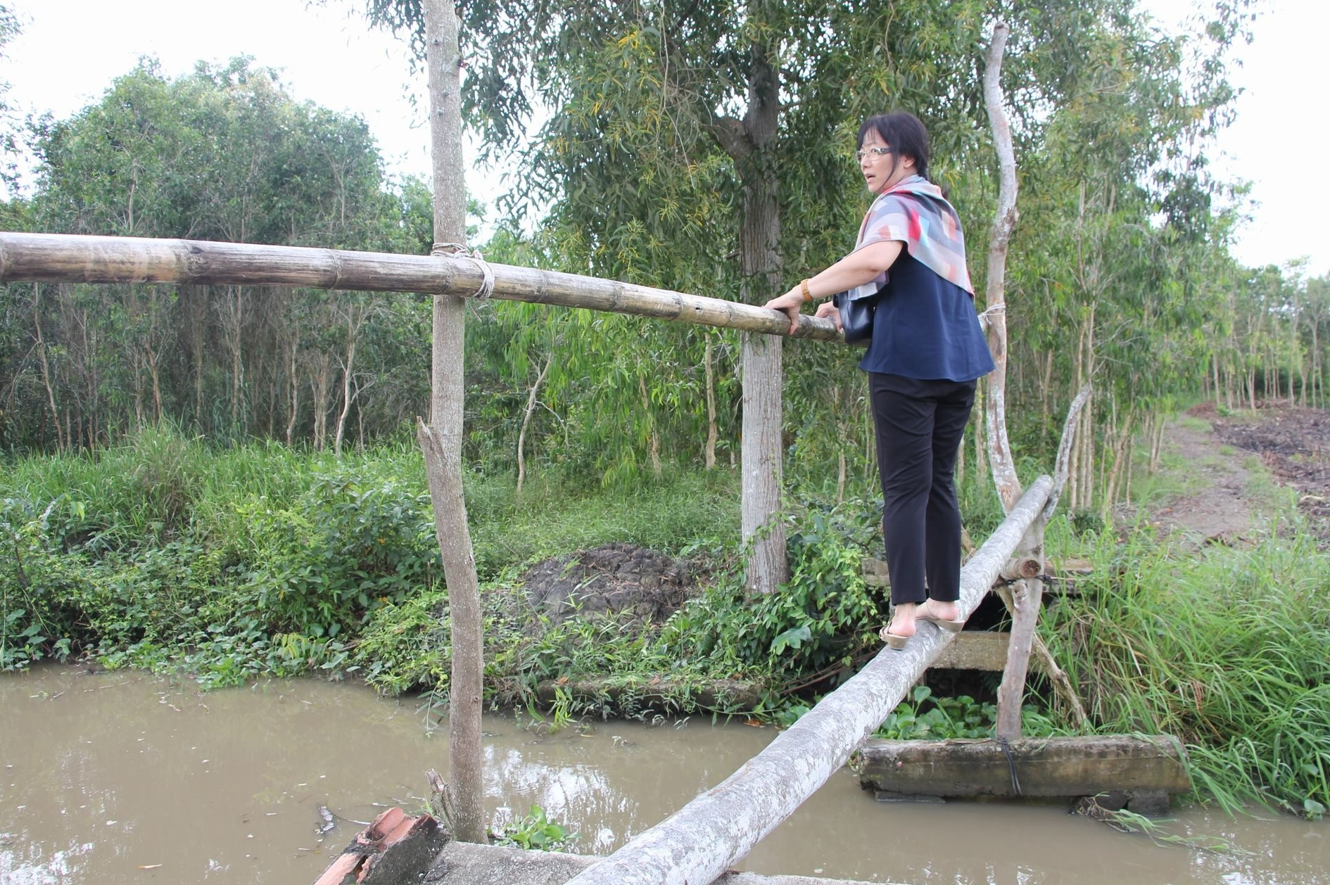 "Crossing the old Kênh Cùng ""bridge"" was a daily hazard and a tragedy waiting to happen."