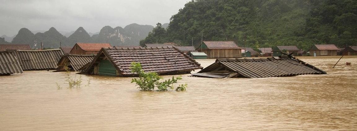 Flood in central Vietnam 2020